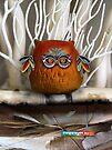 CHUNKIE Owl by © Karin Taylor