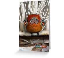 CHUNKIE Owl Greeting Card