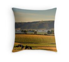 Canterbury Scene Throw Pillow