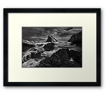 Bow Fiddle Storm Framed Print