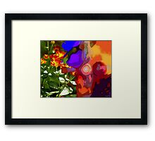 Child's play one-o-one - Life enters child's play Framed Print