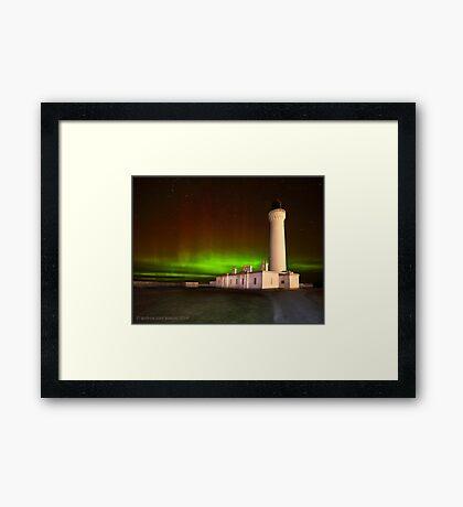 Covesea Aurora Framed Print