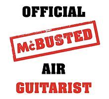 Official McBusted Air Guitarist by SparklyFiend