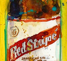 Red Stripe Jamaican Style Lager by Dorrie  Rifkin