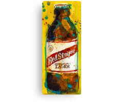 Red Stripe Jamaican Style Lager Canvas Print