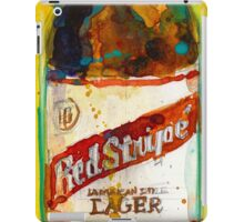 Red Stripe Jamaican Style Lager iPad Case/Skin