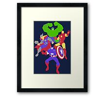 Assemble Framed Print