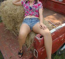 Hay lounging by GWGantt