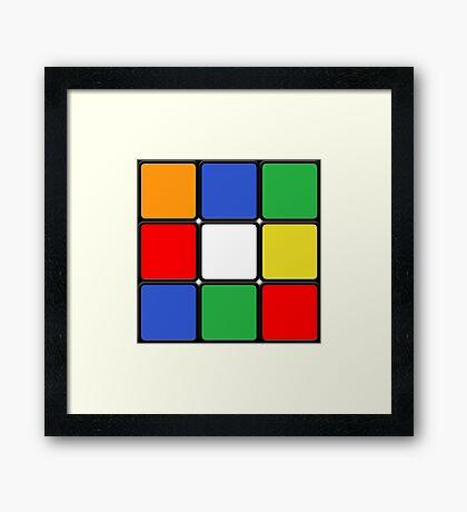 The Cube Framed Print