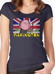 Karl Pilkington - Britains Finest Women's Fitted Scoop T-Shirt