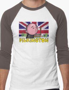 Karl Pilkington - Britains Finest Men's Baseball ¾ T-Shirt