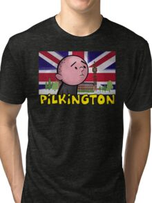 Karl Pilkington - Britains Finest Tri-blend T-Shirt
