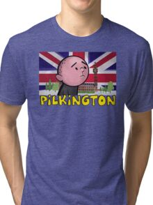 Karl Pilkington - Britains Finest Tri-blend T-Shirt