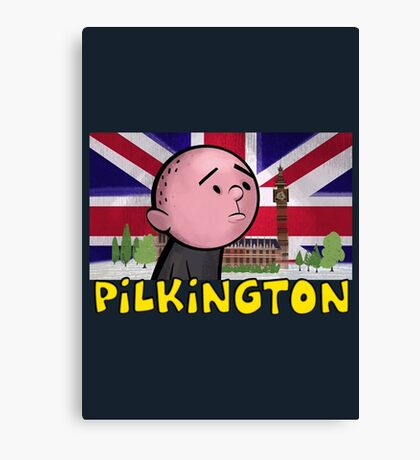 Karl Pilkington - Britains Finest Canvas Print