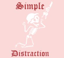 Simple Distraction by lilterra Baby Tee