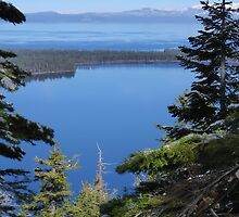 Fallen Leaf Lake as Seen from Angora Ridge by Jared Manninen