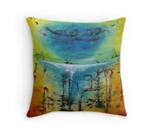 Know Where Throw Pillow