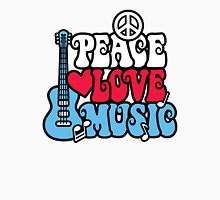 Patriotic Peace Love Music Women's Relaxed Fit T-Shirt