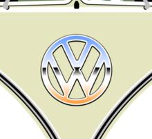 VW split-screen bus t-shirt Sticker