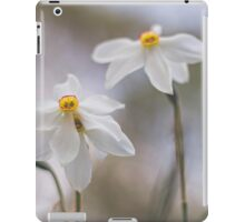 White Narcissus iPad Case/Skin