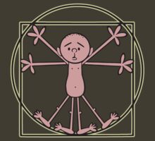 Karl Pilkington - Vitruvian Pilkington by Idiot-Nation