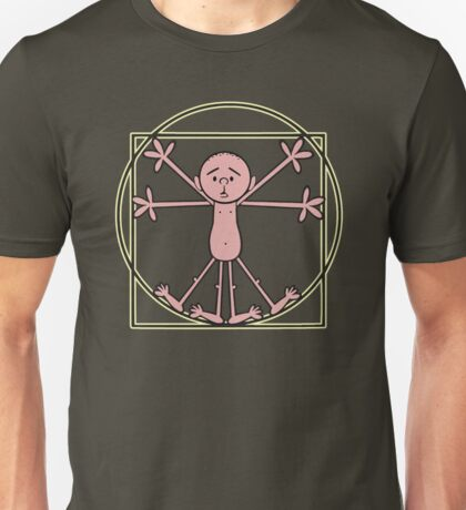 Karl Pilkington - Vitruvian Pilkington Unisex T-Shirt