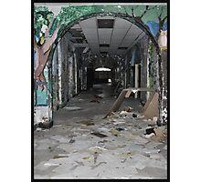 hall with flash Photographic Print