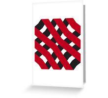 Modern - Threads Greeting Card