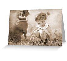 A Touch of Grass Greeting Card