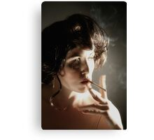 up in smoke #6 Canvas Print