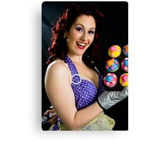 Cupcakes with a Twist Canvas Print