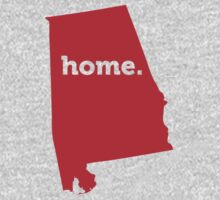 Alabama HOME RED by USAswagg
