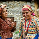 Nepali Women by David Reid