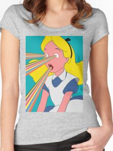 Alice is Dead Women's Fitted Scoop T-Shirt