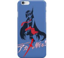 Akame ga kiru iPhone Case/Skin