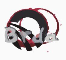 Brda wineyards and wine stain Kids Tee
