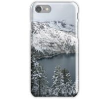 Fallen Leaf Lake and Mount Tallac iPhone Case/Skin