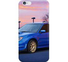 2007 Subaru STi Sports Sedan iPhone Case/Skin