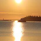 Vinalhaven Ferry by Rebecca Brann