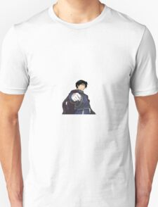 Roy Mustang Sticker T-Shirt