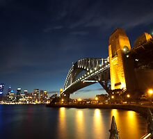 Sydney Harbour Bridge - 5D Mk II by MiImages