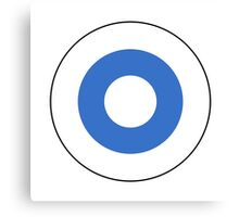Finnish Air Force - Roundel Canvas Print