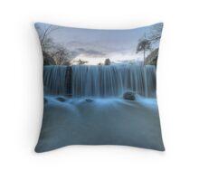 Weir in Bradgate Park Throw Pillow