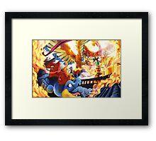 HO-OH'S SACRED FIRE Framed Print