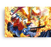 HO-OH'S SACRED FIRE Canvas Print
