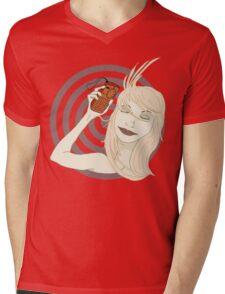 Lonely Love Mens V-Neck T-Shirt