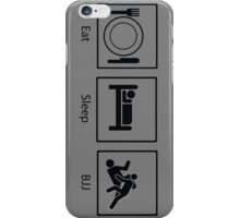Eat, Sleep, BJJ iPhone Case/Skin