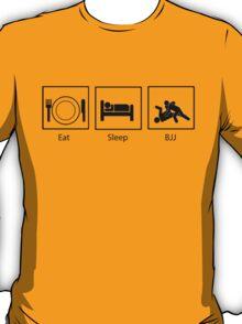 Eat, Sleep, BJJ T-Shirt