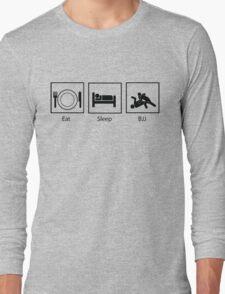 Eat, Sleep, BJJ Long Sleeve T-Shirt