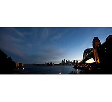 Panorama Of Sydney Harbour Photographic Print